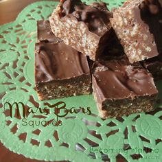 Mars Bars Squares - A friend made these recently and they were delicious!