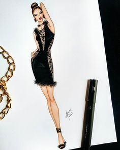 Fashion sketches 857935797744602736 - Source by Fashion Illustration Sketches, Illustration Mode, Fashion Sketches, Fashion Art, Fashion Models, Croquis Fashion, Fashion Design Drawings, Dress Sketches, Fashion Figures