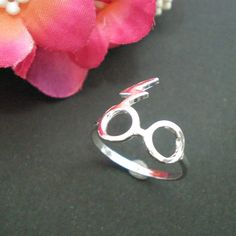 Silver Harry Potter Ring  Geek Fashion Gift Idea  by yhtanaff, $29.00