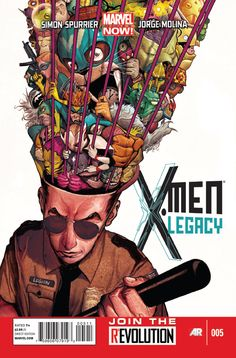 X-men legacy Comic book cover
