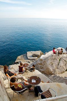 Cafe Bar Buža in Dubrovnik, Croatia
