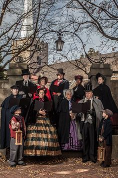 """""""Dickens Experience"""" in Historic New Castle, Delaware"""
