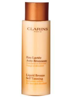 Clarins Liquid Bronze, Best 2014 Face Self-Tanner, from #instylebbb