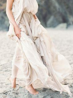 Film Editorial Photographer Erich McVey | Natural Beach Wedding Ideas