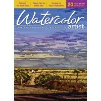 Watercolor Artist, December 2013 • 10 artists you should know • Pouring paint for vibrant color •Breaking the rules of composition ~ch