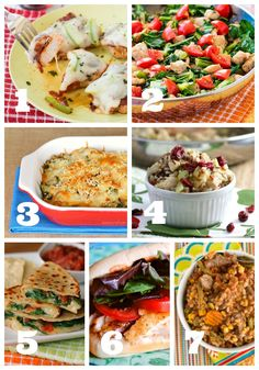 This week's menu of easy dinners includes two easy pork recipes, quick…