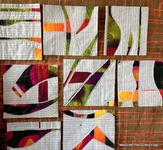 The Quilting Edge: Slashing, read the tute on curves, neat circular shapes