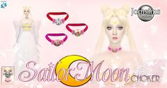 Sailor Moon Choker by JomsimsCreations.