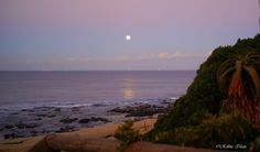 Photo of the day - Jeffreys Bay full moon Local Photographers, Moon Rise, Full Moon, African, In This Moment, Day, Beach, Places, Water