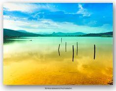 Sea Lake at Vivari, Asini, Nafplio, Argolis, GREECE