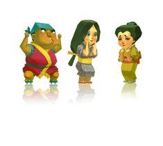 Hao Hao games on Behance