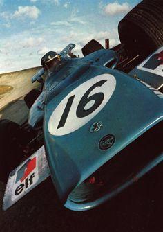 Matra MS84, a 4 wheel drive Formula one