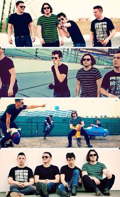 Love how on the last picture, everyone looks so sullen and then there's just Jamie. Arctic Monkeys, Monkey Pictures, Matt Helders, Indie, Alternative Rock, The Wombats, Monkey 3, The Last Shadow Puppets, Music Pics