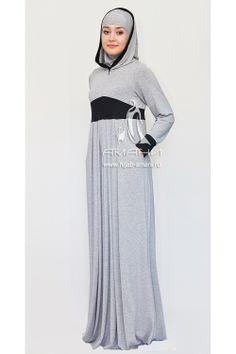 Rijada grey LT dress - price 69$ Fabric-jersey Платье Рийада серое LT - цена 2400 руб Ткань-трикотаж