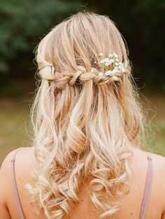 18 Bohemian Wedding Hairstyles for Bridesmaids (Or Brides!) | TheKnot.com