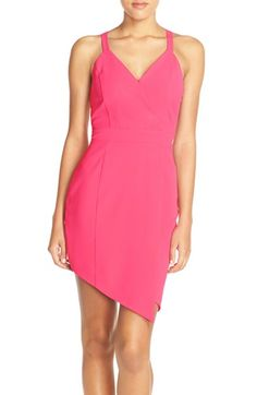 Greylin 'Villa Mar' Cutout Back Asymmetrical Dress available at #Nordstrom