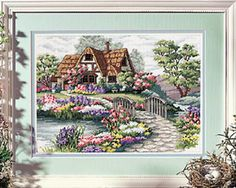 Cross-stitch Cottage, part 1