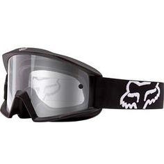 Fox Racing Main Goggles - Matte Black Clear
