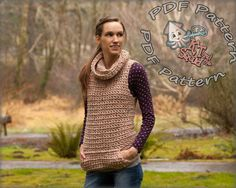 Womens crochet top pattern Crochet sweater