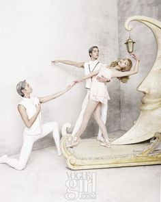 The Nutcracker Girl • Vogue Korea