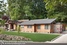 Single Story Contemporary House Plan - 69402AM thumb - 05