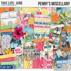 Thursday's Guest Freebies ~ Penny's Miscellany  ✿ Follow the Free Digital Scrapbook board for daily freebies: https://www.pinterest.com/sherylcsjohnson/free-digital-scrapbook/ ✿ Visit GrannyEnchanted.Com for thousands of digital scrapbook freebies. ✿: