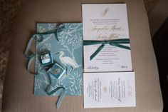 Velvet Fall Wedding - The Event Group - loved creating this custom invite! Traditional on the front; the back echos vintage wallpaper. Chic Wedding, Luxury Wedding, Gold Wedding, Elegant Wedding Invitations, Custom Invitations, Event Company, More Than Words, Jessie, Event Planning