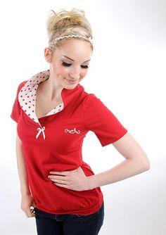 Dieses lässige Kurzarm-Shirt hat alles, was dein Herz begehrt: Schlichte, kurze T-Shirt Ärmel, eine gemütliche Passform und einen tollen WOW-Kragen. Das kurzärmlige Shirt umspielt deine Figur,...