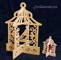 Scroll Saw Patterns Download | Scroll Saw Patterns :: Miscellaneous :: Birdcages & Birdhouses ...