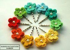Crochet clips