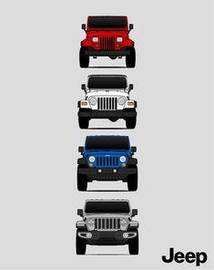 Cj Jeep, Jeep Cars, Jeep Truck, Custom Jeep, Custom Cars, Jeep Ika, Jeep Wallpaper, Duke Bike, Jeep Grill