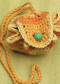 Free Anchor crochet pattern: marbles pouch in Anchor Magicline   ☀CQ #crochet #crafts #DIY.  Thank you for sharing! ¯\_(ツ)_/¯