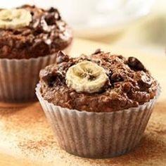 Cocoa Banana Bran Muffins Allrecipes.com