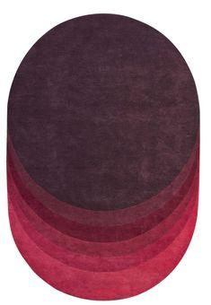 Degrades de couleurs : Tapis Trace (Roche Bobois)
