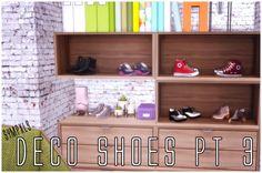 Simsworkshop: Deco Shoes Pt 3 by Sympxls • Sims 4 Downloads
