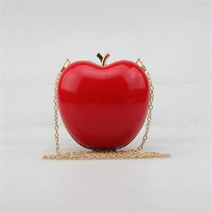 Apple Shaped Cute Evening Bag //Price: $37.49 & FREE Shipping // #bling #stones #stone #trendy