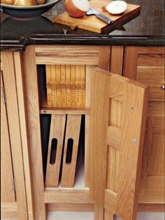 11. Custom Kitchen Storage