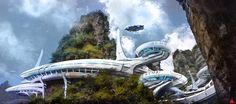 concept ships: Concept ships by Dmitry Vishnevski