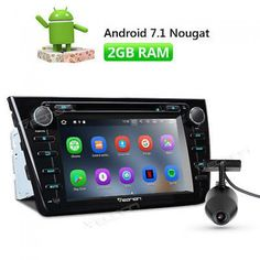 """Eonon Dvr & 8""""android 7.1 Car Radio Dvd Gps Touch In Dash Rds B Fits Mazda 6 2009 2012 Player Stca8198rhkebu2 2 Din Yes Black Android Nougat System 1024*600 8in."""