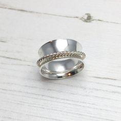 Anillo de Spinner girando el anillo anillo de ansiedad