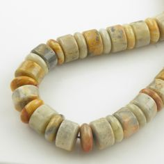 Crazy Lace Agate Beads, starting at $20.