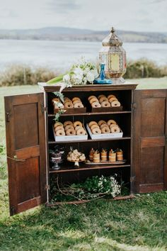 Donut Donut Stand Station Cakes Bohemian Luxe Coastal Wedding Ideas www.tarastattonph … Do you choose canned food stuff or dry […] Wedding With Kids, Farm Wedding, Luxe Wedding, Autumn Wedding, Wedding Trends, Whimsical Wedding Cakes, Wedding Flower Decorations, Doughnut Stand, Wedding Cake Display