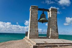 PRIS:  WWW.DREAMSTIME.COM PHOTOS BRONZE-BELL-DESTINY-SEA-SHORE-ANCIENT-GREEK-CITY***