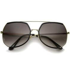 cf9bf31f9e Black Gold Lavender Cat Eye Sunglasses