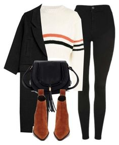 """""""Untitled #7085"""" by laurenmboot ❤ liked on Polyvore featuring Topshop, Raf Simons and Monki"""
