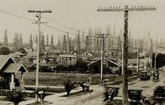 Signal Hill in 1924, the year it was incorporated. (Bizarre Los Angeles)