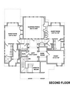 Sleeping porch house plans home design and style for Sleeping cabin plans