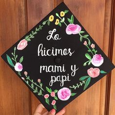 """""""We did it mom & dad."""" This one has to be one of my favorites ever. As a first generation college student, graduating college is not only a big accomplishment for ourselves, but for our families. #graduationcap #classof2016"""
