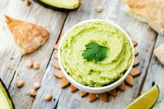 Dr. Mark Hyman's Avocado Cream with Crudités: A creamy, delectable sauce that is ideal for topping off meals.