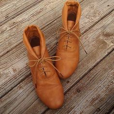 Modcloth Blaze A Trail Booties in Tan Womens US Size 10 Vintage Styled | eBay